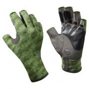 Перчатки рыб. Buff Angler Gloves Skoolin Sage